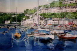 Harbour Scene- 2nd Prize- Summer Exhibition 2016