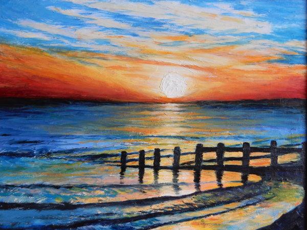 Beautiful Sunset - Tywyn