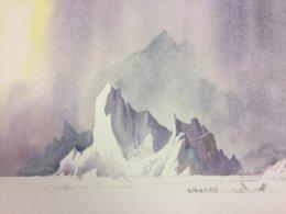 Arctic Landscape- David Bellemy - Oct 2017