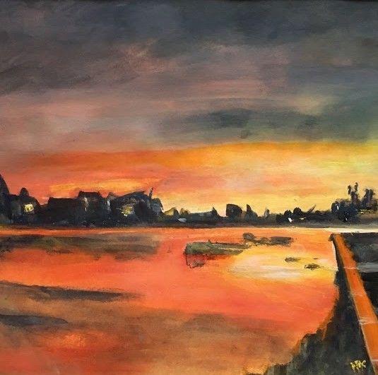 Itchen Sunset