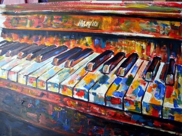 Colourful Keys
