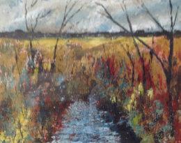 Across the Fields in Wellow