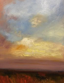 Lindsay Cole- demo 2/2019 Skies- oil