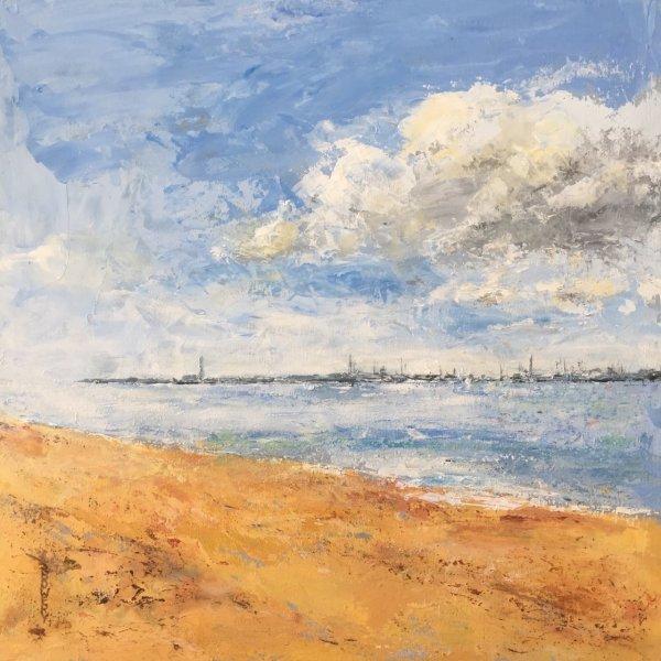 Fawley from Netley Shore