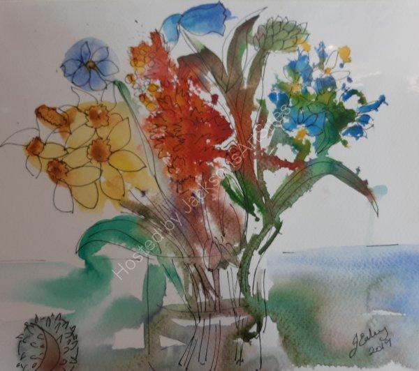Flowers.    Jean Ealey
