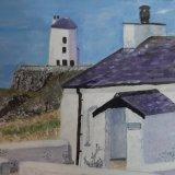 Cottages at Llandowyn Island.   Sandra Jackson