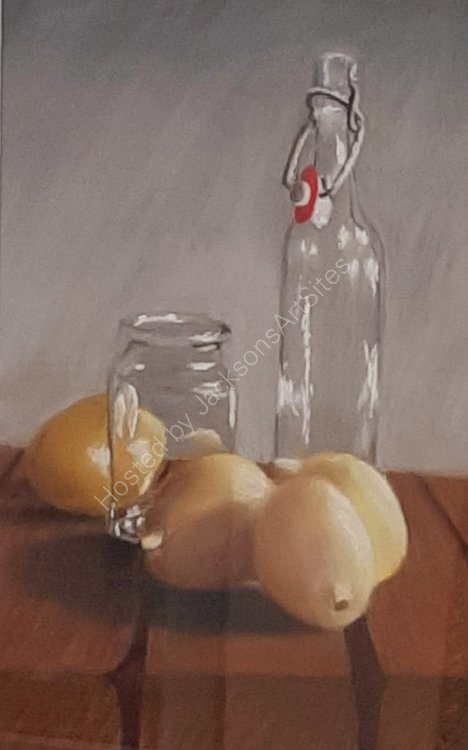 Still life with Lemons.      Fred Davies