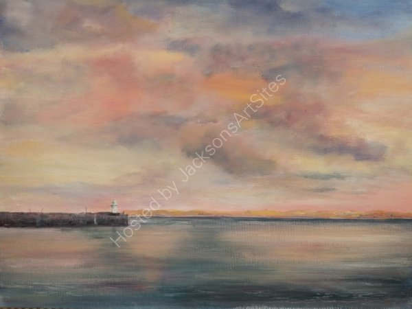 Evening Glow, St Ives.   Lynda Wilson