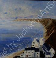 Maureen Bell.    Morfa Nefyn, Lleyn Peninsula.     Acrylic
