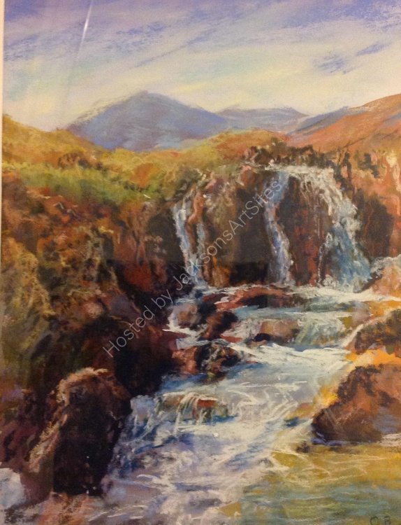 Mountain Stream.  Christine Burke