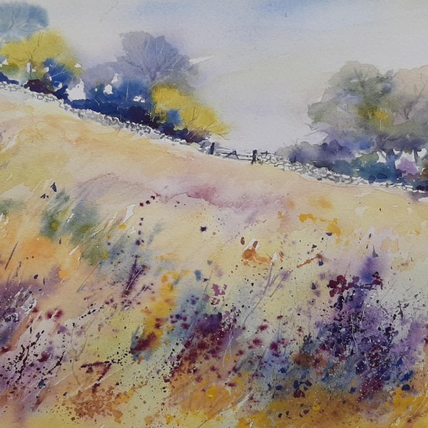 Lynda Wilson. A Springtime to Remember 2020. Watercolour