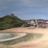The Beach, Criccith.  Gill Benjamin