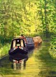 Day on the Canal.     Sandra Jackson