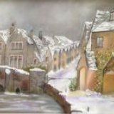 Castle Combe.  Patricia Davies
