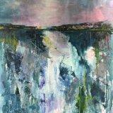 Barbara Ann Reynolds.  Hidden Depths.  Acrylic