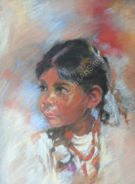 Indian Girl.  Marjorie Scott