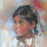 Indian Girl.  Marjorie Scott