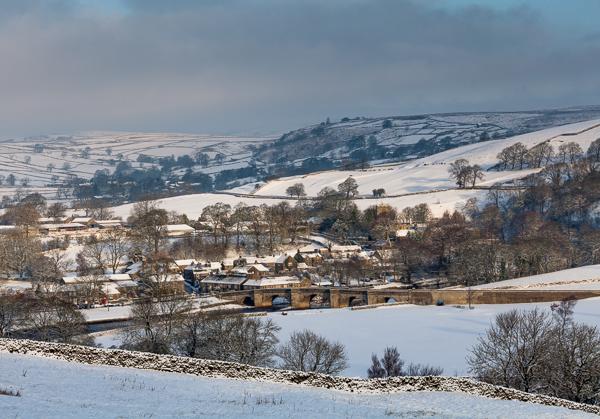 Burnsall, Winter