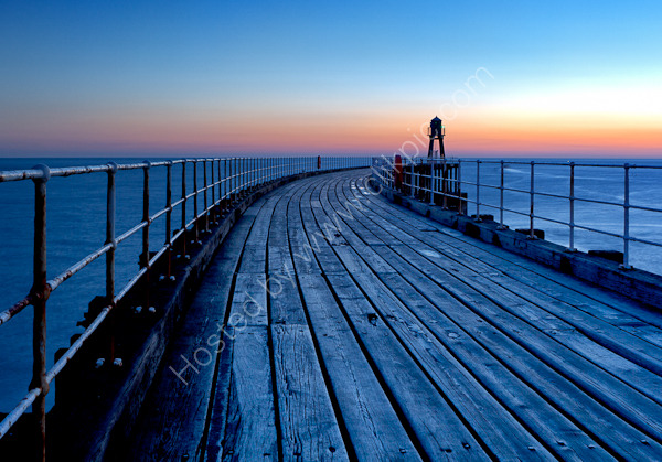 Whitby Pier Sunrise