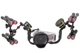 V4 dome lens unit