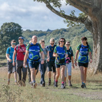 Outdoor event photography - corporate / charity challenge