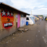 Calais Migrant Camp-027