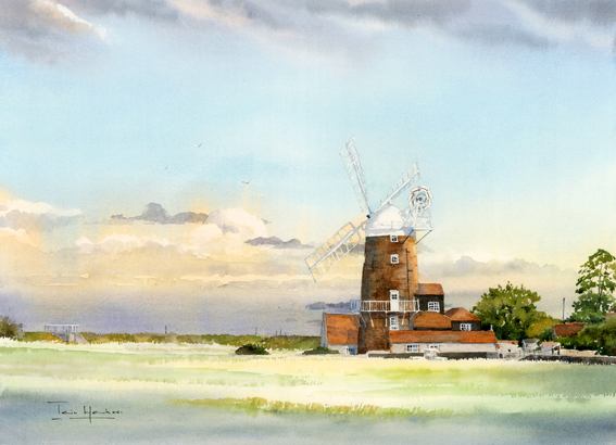 Late Afternoon at Cley Windmill