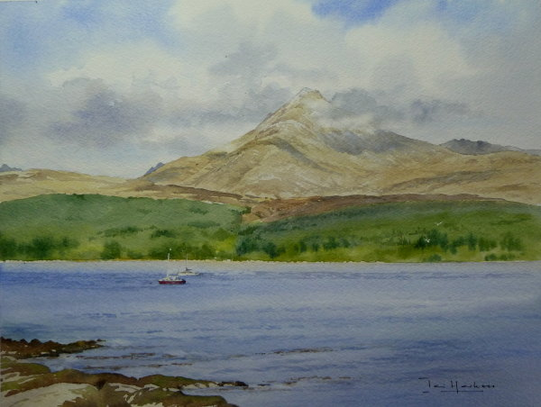 Goat Fell and Brodick Bay