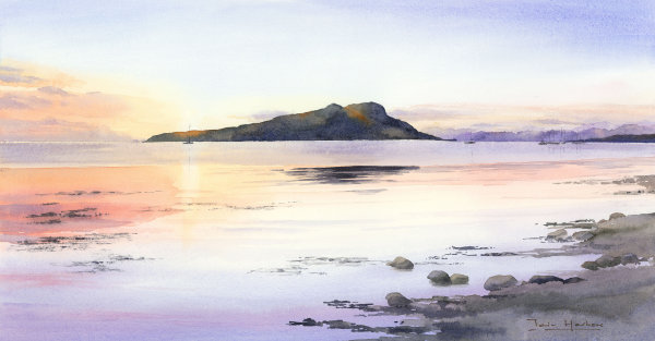 The Quiet of the Evening, Holy Island, Arran