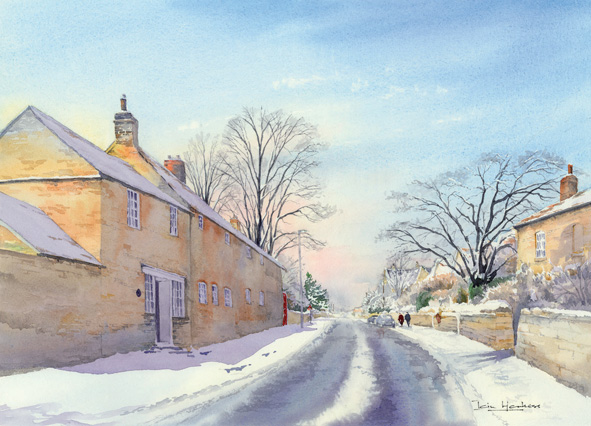Winter Stroll, South Rauceby