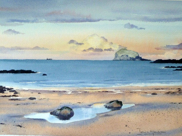 Bass Rock Sunset
