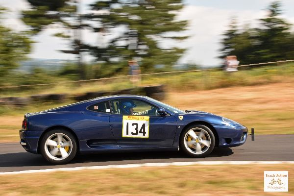 TAP 0291 Ferrari Loton Park 15th July 2018