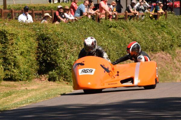 TAP 0581 6th July 2019 Shelsley Walsh Hill Climb Motorcycles, Sidecars & Trikes