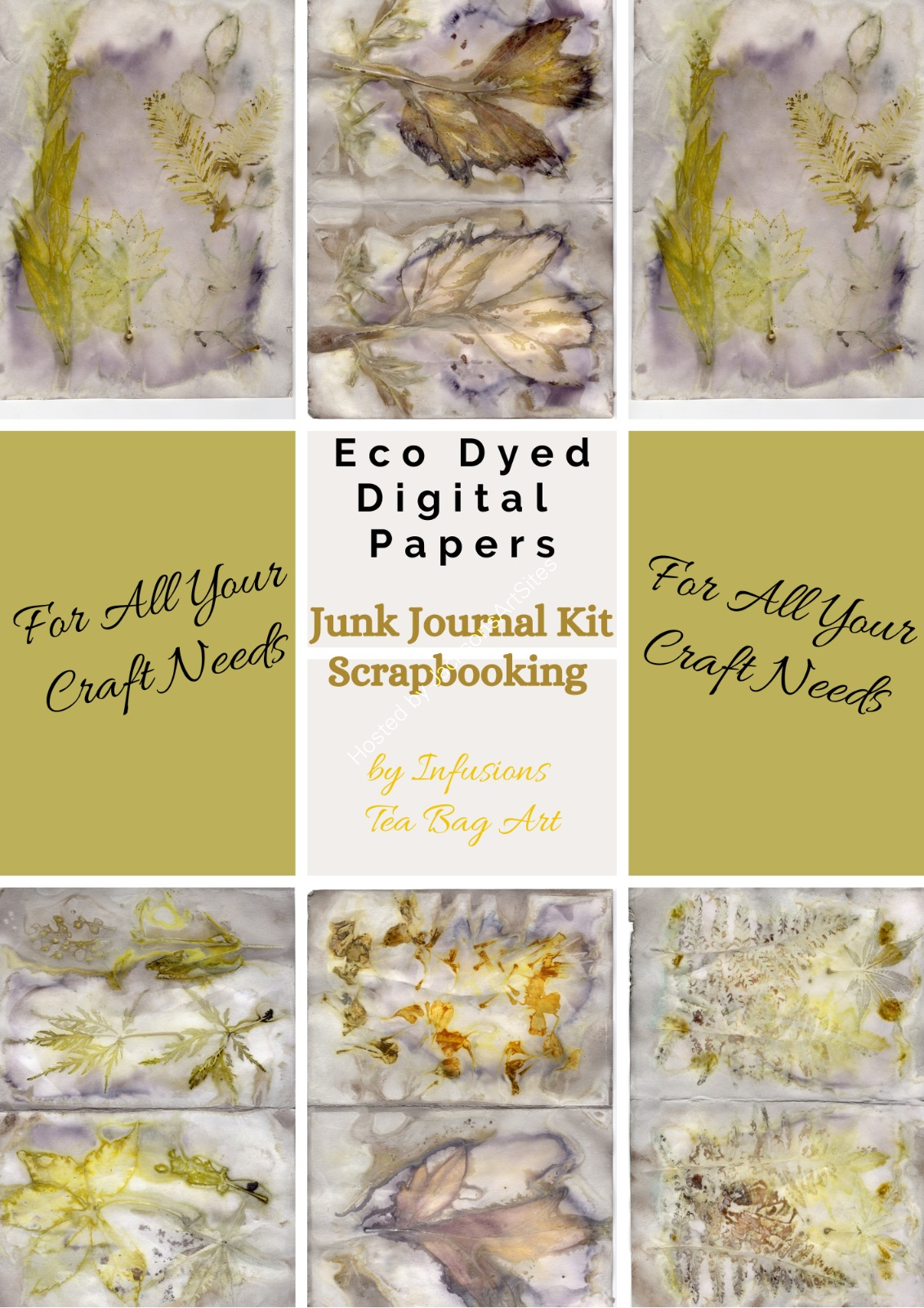 Homemade Eco Dyeing Papers - Etsy Only