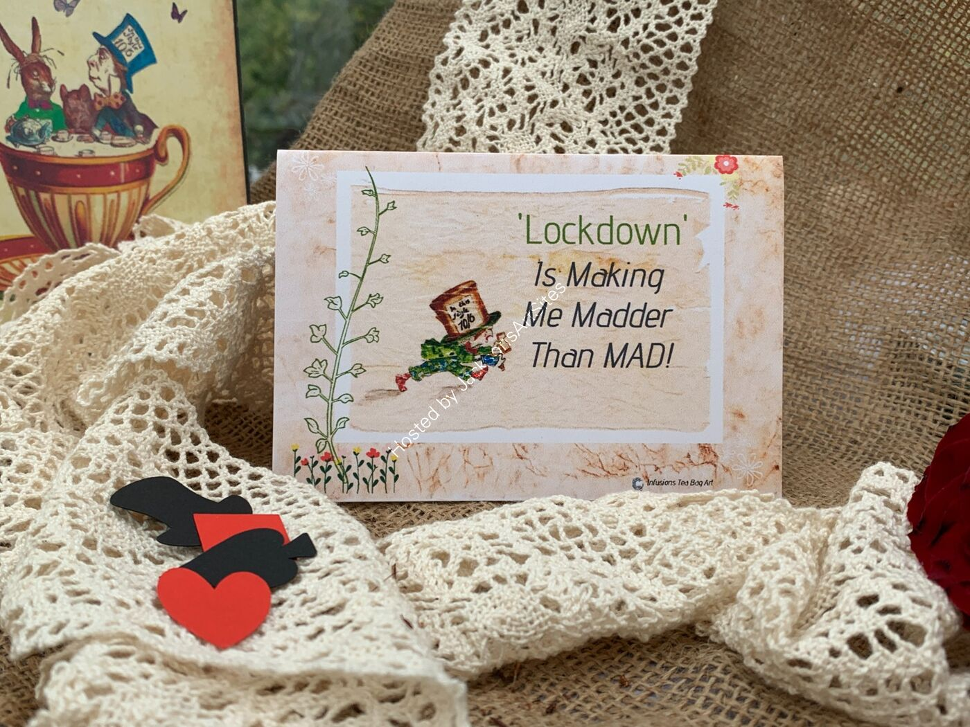 Mad Hatter Lockdown Cards