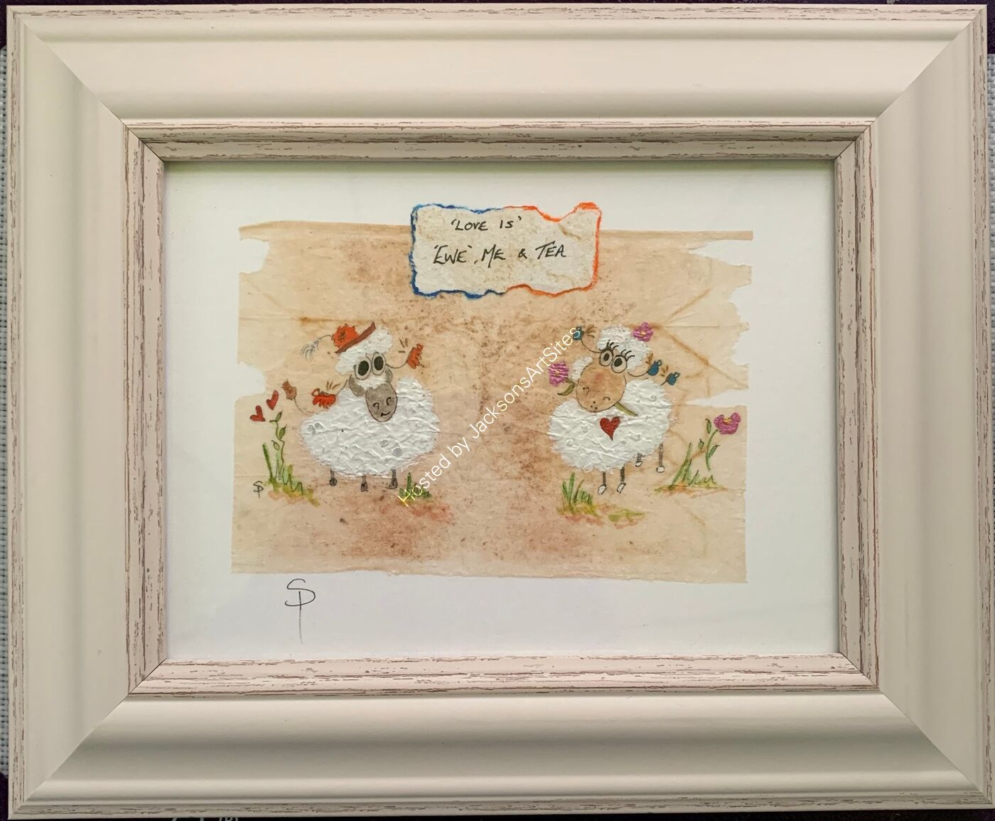 'Love Is' - Ewe, Me & Tea - Original Herbal Tea Bag