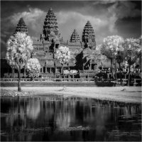 ANGKOR WAT IN THE INFRARED