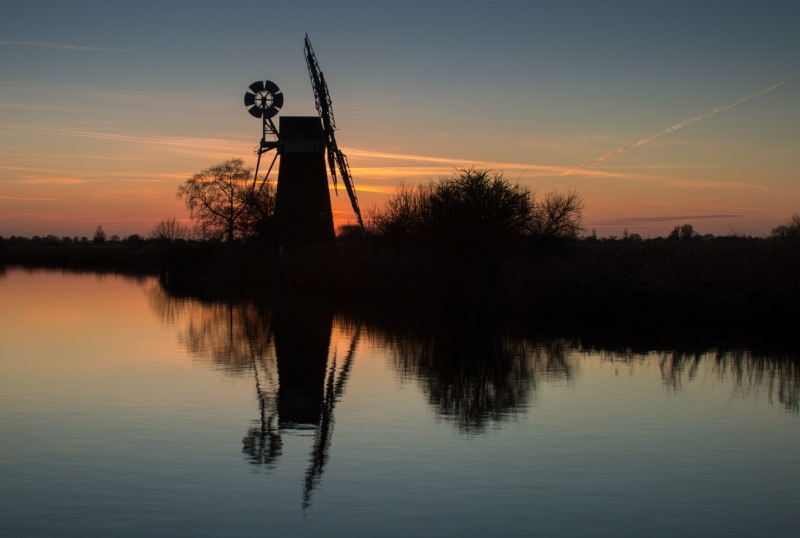 SUNSET AT TURF MILL