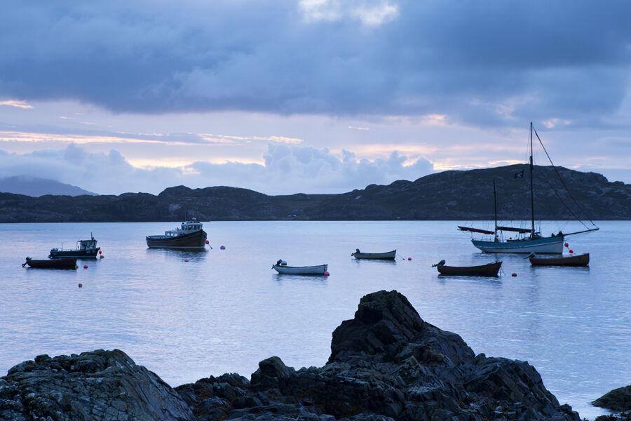 Morning Calm, St Ronan's Bay