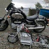 Mini me motorbike commission