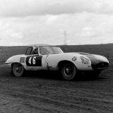 AUTOCROSS - Pitbee Farm (November, 1969) Car 46, Andrew Smith (Jaguar E-Type)