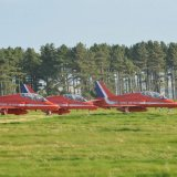 Aircraft - The Red Arrows (Hawk TI) - Prepare for Take-Off