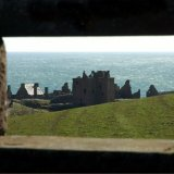 Castle - Dunnottar Castle (through the wall)