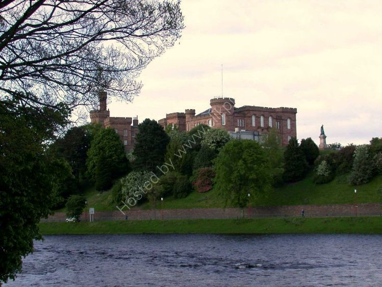 Castle - Inverness by the River Ness