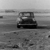 Crimond Sprint - (10 September, 1967) Car Bob Haining, (Mini), seemingly enjoying himself)