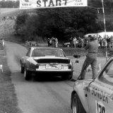 Doune Hill Climb - (25 September, 1983) Bob Kerr (Broadspeed Jaguar XJ6) leaving the start line