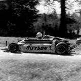 Doune Hill Climb - Car 1, Martin Bolsover (Pilbeam) in the Esses