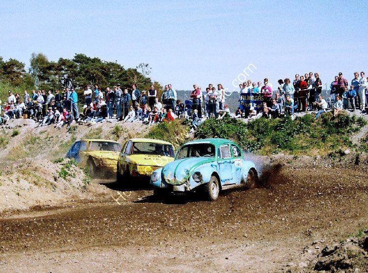 FOLKRACE - (Stock Car Racing) near Trollhättan, Sweden (1)
