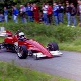 Fintray Hill Climb - Martin Pieraccini approaching Hairpin