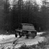 Granite City Rally - Andrew Cowan  (Hillman Imp) Durris Stage, 06 April, 1968